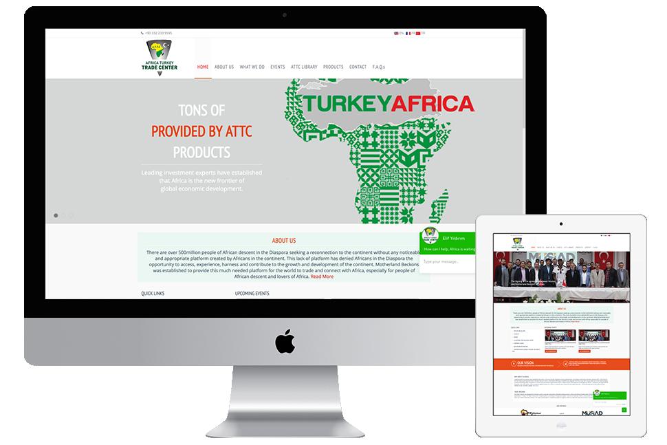 Nourkas Web Portfolio ATTC Website