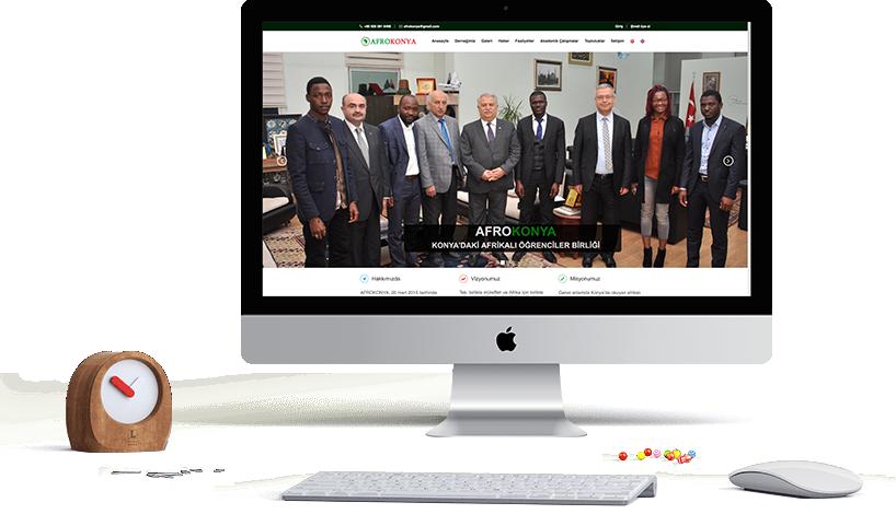 Afrokonya website Design and Coding
