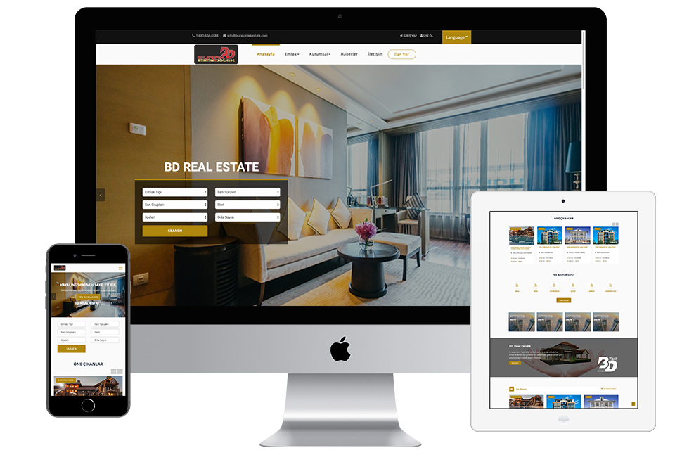 Nourkas Web Portfolio BD Estate Website