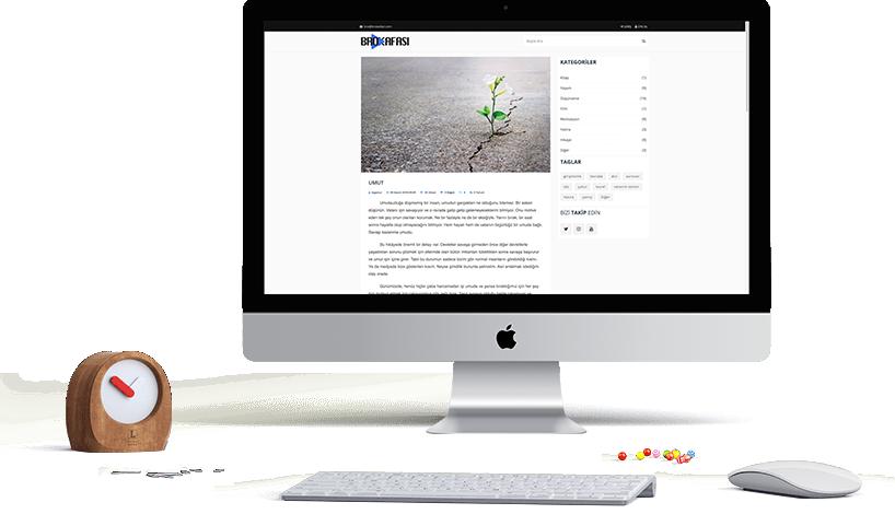 Brokafası website Design and Coding
