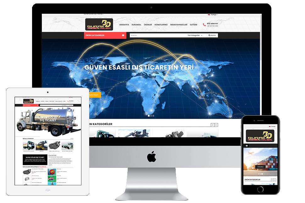 Burak Dölek Website