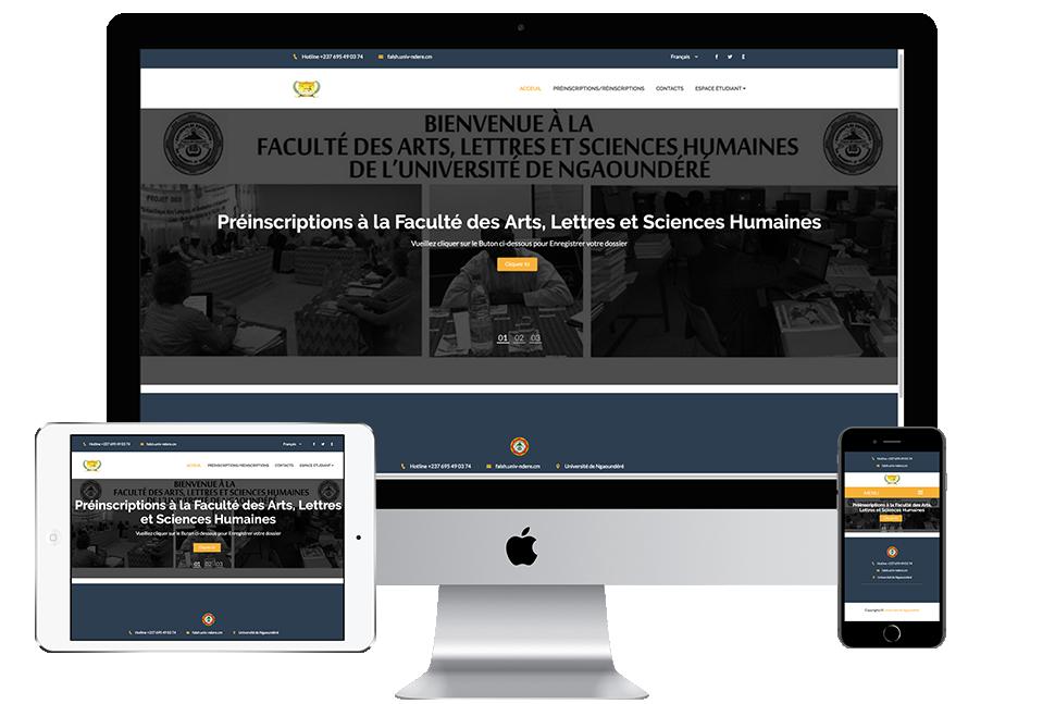 Nourkas Web Portfolio Falshun Registration system