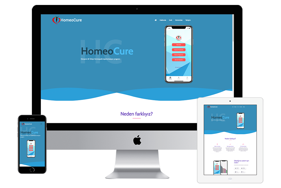 Nourkas Web Portfolio HomeoCure Website