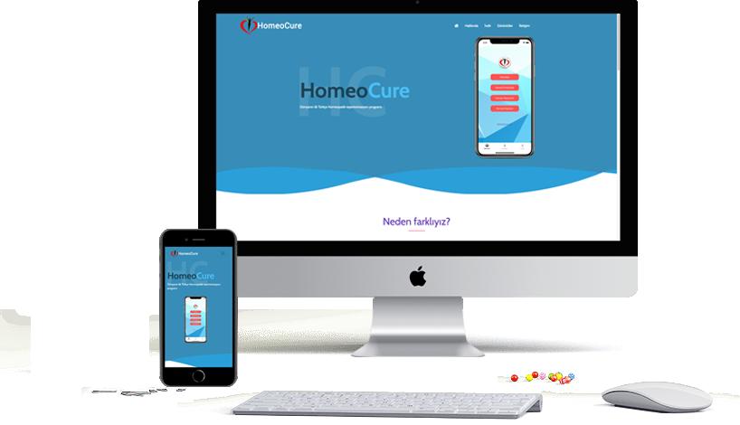 HomeoCure Website